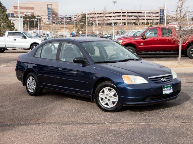 2003 Honda Civic LX LX 4dr Sedan w/Side Airbags