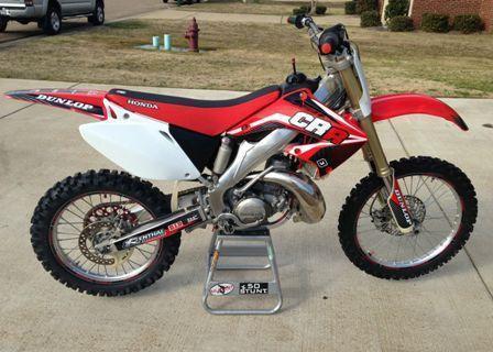 2003 Honda CR250R 2 stroke mx dirt motocross bike  Immaculate!