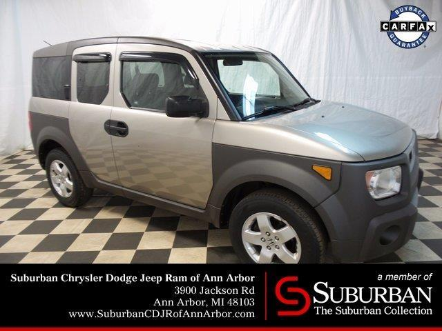 2003 honda element ex awd ex 4dr suv for sale in ann arbor. Black Bedroom Furniture Sets. Home Design Ideas
