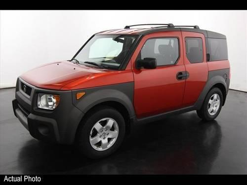 2003 honda element suv awd ex for sale in sparta michigan. Black Bedroom Furniture Sets. Home Design Ideas