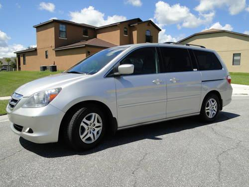 2003 honda odyssey ex gray auto for sale in apopka florida classified. Black Bedroom Furniture Sets. Home Design Ideas