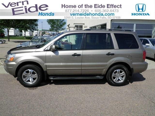 2003 honda pilot ex l for sale in sioux falls south dakota classified. Black Bedroom Furniture Sets. Home Design Ideas