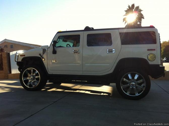 2003 hummer h2 for sale in thousand oaks california classified. Black Bedroom Furniture Sets. Home Design Ideas