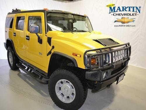 2003 HUMMER H2 Sport Utility For Sale In Crystal Lake, Illinois