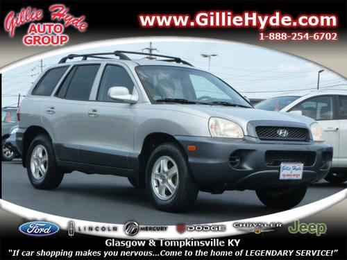 2003 hyundai santa fe suv for sale in dry fork kentucky classified. Black Bedroom Furniture Sets. Home Design Ideas