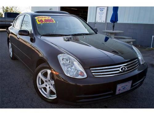 2003 infiniti g35 4d sedan luxury for sale in gallatin tennessee classified. Black Bedroom Furniture Sets. Home Design Ideas