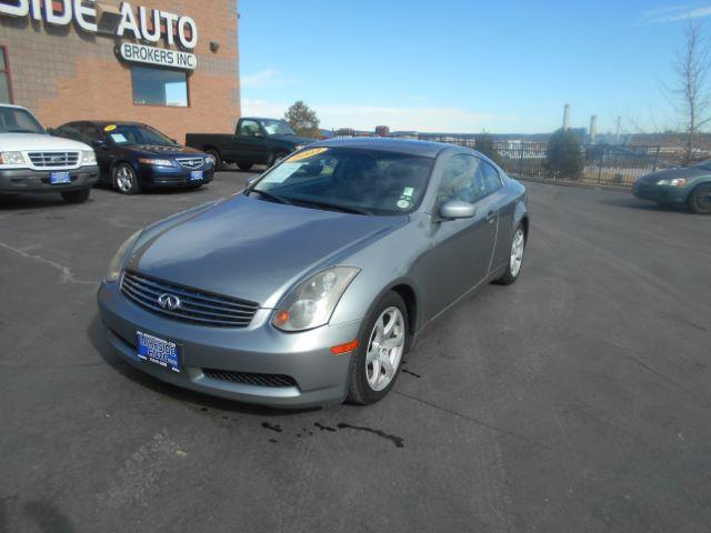 2003 INFINITI G35 Base 2dr Coupe