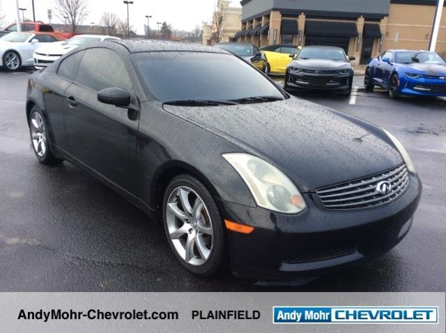 2003 infiniti g35 base 2dr coupe for sale in cartersburg indiana classified. Black Bedroom Furniture Sets. Home Design Ideas