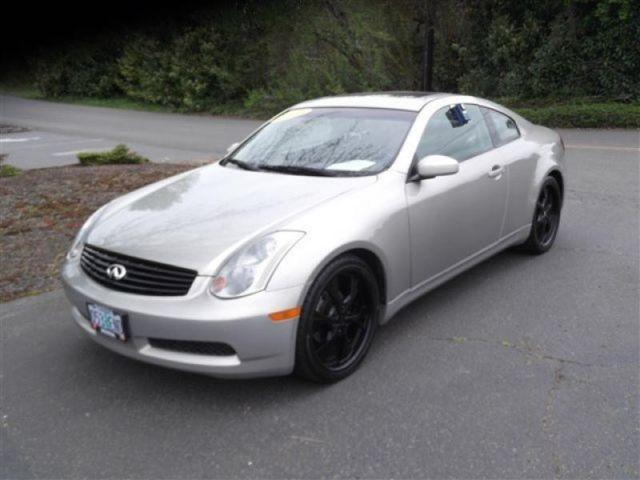 2003 infiniti g35 coupe for sale in mcminnville oregon classified. Black Bedroom Furniture Sets. Home Design Ideas