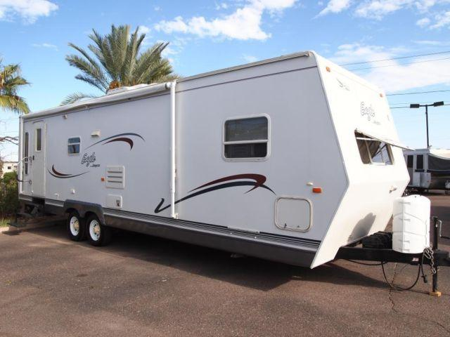2003 Jayco Eagle 308 Travel Trailer W Slide Out Very