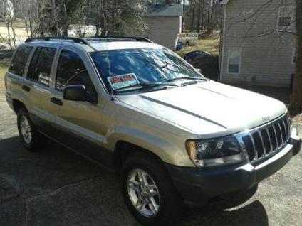 2003 jeep grand cherokee 4x4 for sale in douglasville georgia classified. Black Bedroom Furniture Sets. Home Design Ideas