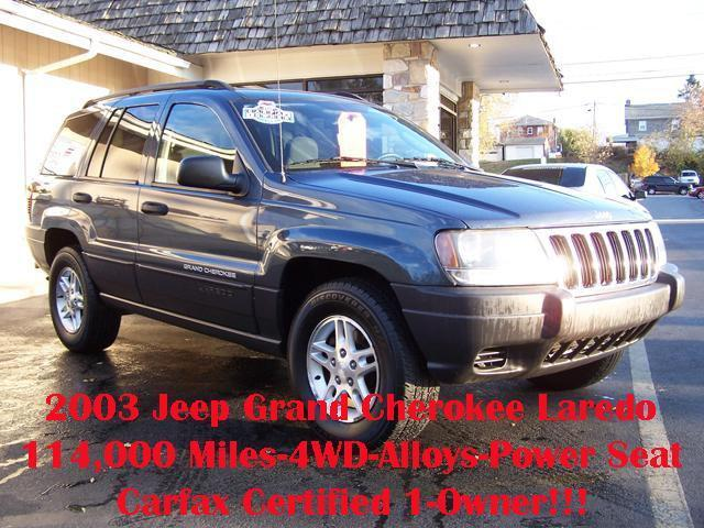 2003 jeep grand cherokee laredo for sale in reading. Black Bedroom Furniture Sets. Home Design Ideas