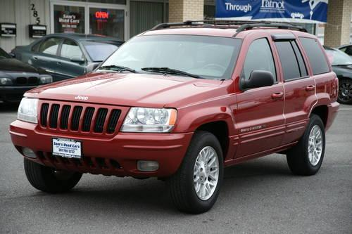 2003 jeep grand cherokee limited auto 4x4 red 107k miles for sale in hagerstown maryland. Black Bedroom Furniture Sets. Home Design Ideas