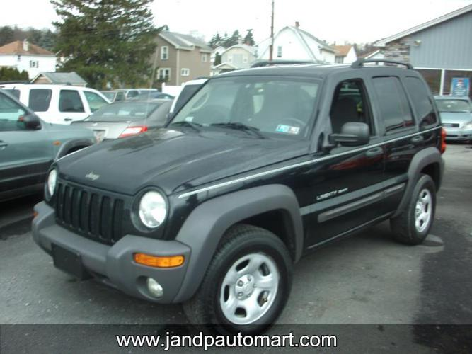 2003 JEEP LIBERTY 4dr Freedom Edition 4WD SUV