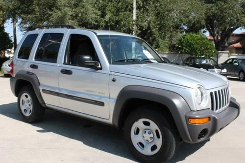 2003 jeep liberty suv sport for sale in clearwater florida classified. Black Bedroom Furniture Sets. Home Design Ideas