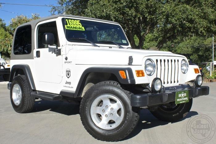 2003 jeep wrangler 2dr sport for sale in league city. Black Bedroom Furniture Sets. Home Design Ideas