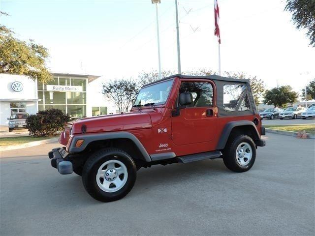 2003 jeep wrangler convertible x for sale in garland texas classified. Black Bedroom Furniture Sets. Home Design Ideas