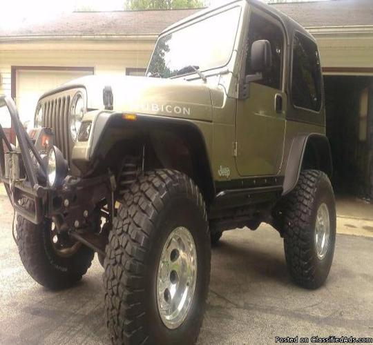 2003 jeep wrangler rubicon for sale in dillsboro indiana classified. Black Bedroom Furniture Sets. Home Design Ideas