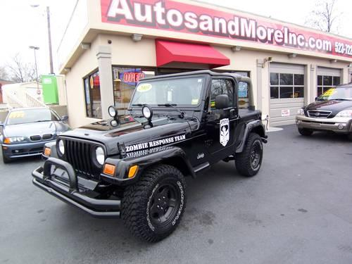 2003 jeep wrangler sahara 4x4 zombie edition for sale in knoxville tennessee classified. Black Bedroom Furniture Sets. Home Design Ideas