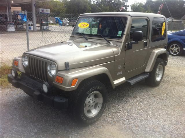 2003 jeep wrangler sahara for sale in eunice louisiana classified. Black Bedroom Furniture Sets. Home Design Ideas