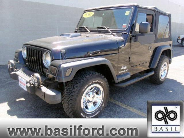 2003 jeep wrangler se for sale in cheektowaga new york classified. Black Bedroom Furniture Sets. Home Design Ideas