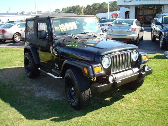 jeep wrangler se 2003 jeep wrangler se car for sale in greenville nc. Cars Review. Best American Auto & Cars Review