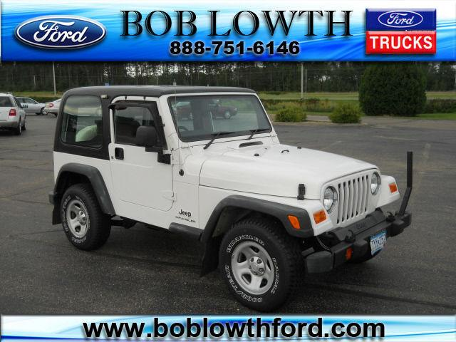 2003 Jeep Wrangler Sport For Sale In Bemidji Minnesota