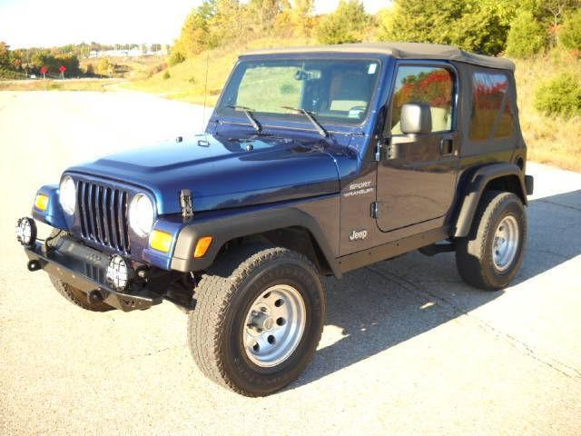2003 jeep wrangler sport for sale in omaha arkansas classified. Cars Review. Best American Auto & Cars Review