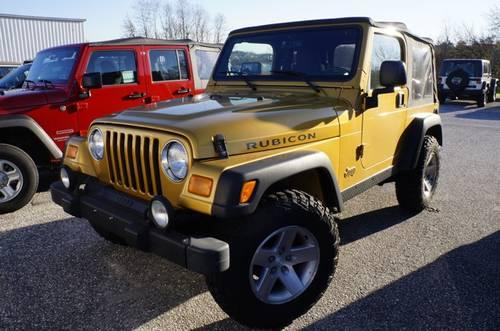 2003 jeep wrangler sport utility rubicon for sale in carrollton. Cars Review. Best American Auto & Cars Review