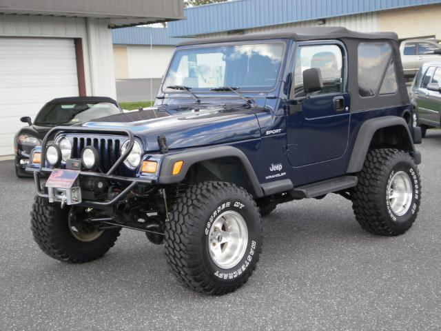 2003 jeep wrangler sport for sale in harrisonburg. Black Bedroom Furniture Sets. Home Design Ideas