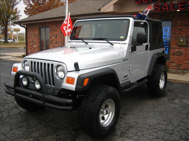 2003 jeep wrangler sport for sale in harrisonville missouri classified. Black Bedroom Furniture Sets. Home Design Ideas