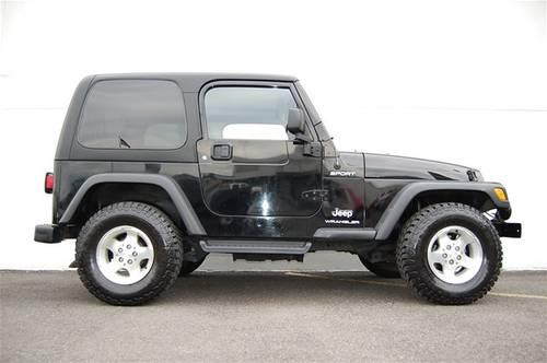 2003 jeep wrangler suv 2dr sport utility hardtop sport for sale in longview washington. Black Bedroom Furniture Sets. Home Design Ideas