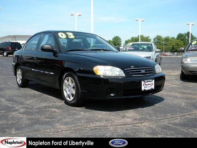 2003 kia spectra for sale in libertyville illinois classified. Black Bedroom Furniture Sets. Home Design Ideas