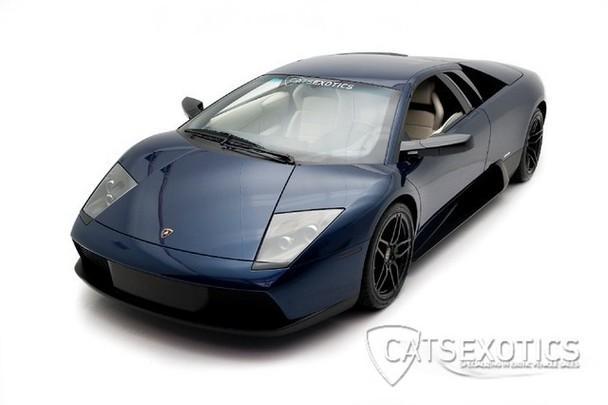 2003 Lamborghini Murcielago Rare Blue Hera Paint Full Clear Shield
