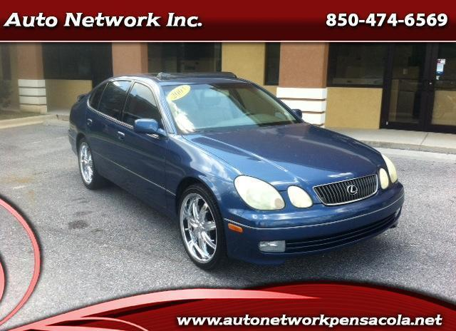 2003 lexus gs 300 great deal see it today buy here pay here www autonetworkpensacola net. Black Bedroom Furniture Sets. Home Design Ideas