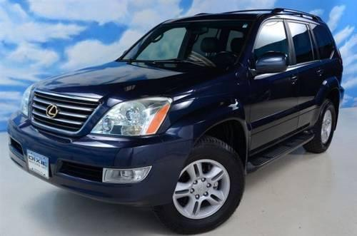 2003 lexus gx 470 suv luxury navigation sunroof awd. Black Bedroom Furniture Sets. Home Design Ideas