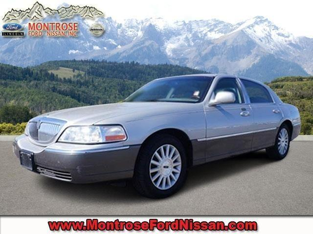 2003 lincoln town car 4dr car signature for sale in colona colorado classified. Black Bedroom Furniture Sets. Home Design Ideas