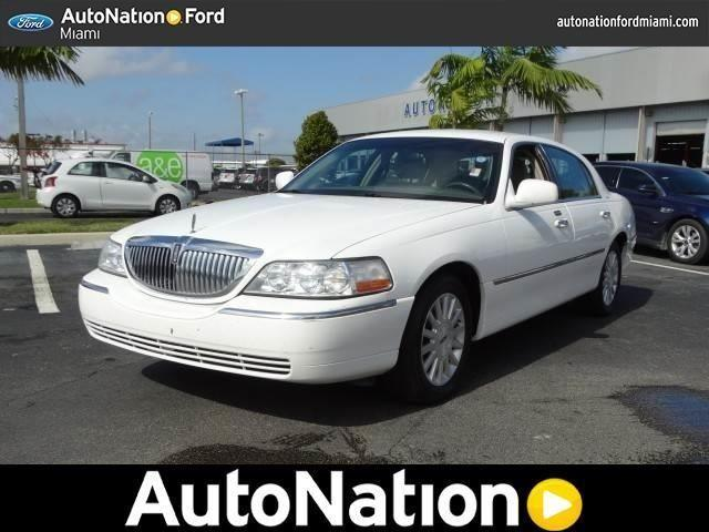 2003 lincoln town car for sale in hialeah florida. Cars Review. Best American Auto & Cars Review