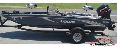 2003 Lowe 170w