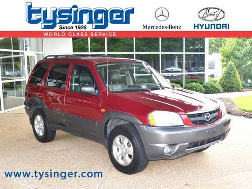 2003 mazda tribute 4d sport utility es for sale in hampton Tysinger motor company