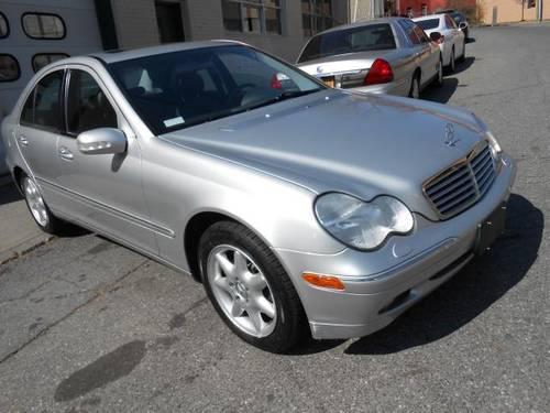 2003 mercedes benz c class c240 sedan 77k miles silver for Mercedes benz under 10000 dollars