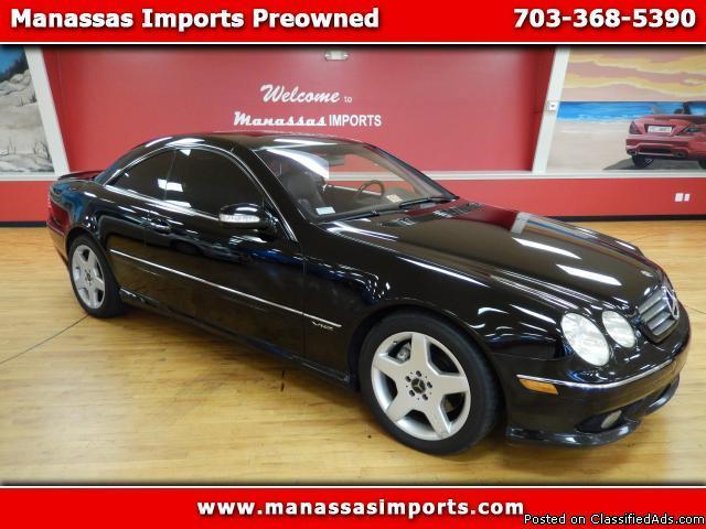 2003 mercedes benz cl class cl600 for sale in manassas for Mercedes benz cl 300 for sale