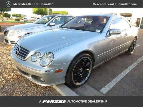 2003 mercedes benz cl class coupe cl500 2dr cpe 5 0l coupe for Mercedes benz of chandler arizona