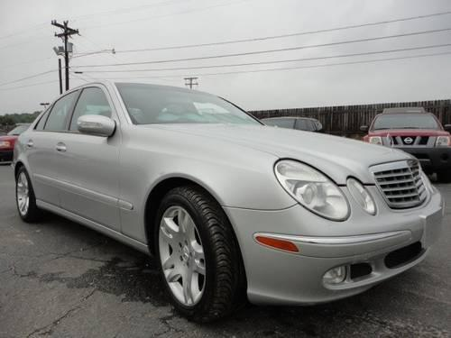 2003 mercedes benz e class sedan e500 for sale in guthrie. Black Bedroom Furniture Sets. Home Design Ideas