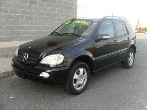 2003 mercedes benz m class suv ml320 for sale in saddle for 2003 mercedes benz ml320