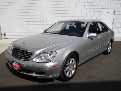 2003 mercedes benz s class 4 door sedan s430 4matic for for Spokane mercedes benz