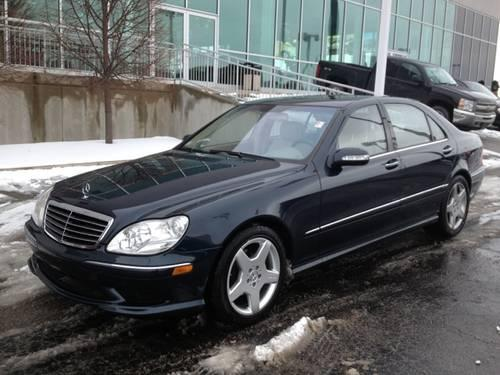 2003 mercedes benz s class 4d sedan s500 for sale in fort for Fort wayne mercedes benz dealership