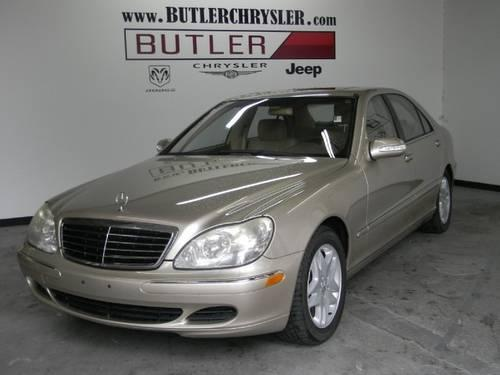 2003 mercedes benz s class sedan s430 for sale in beaufort. Black Bedroom Furniture Sets. Home Design Ideas