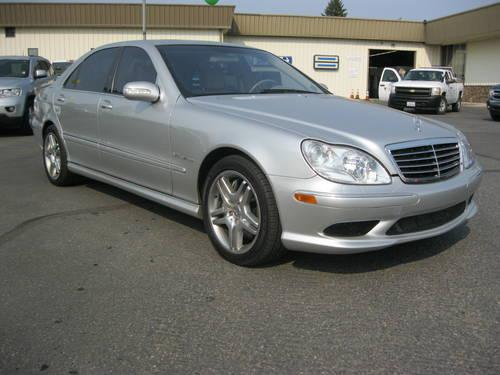 2003 mercedes benz s55 amg sedan for sale in spokane for Spokane mercedes benz