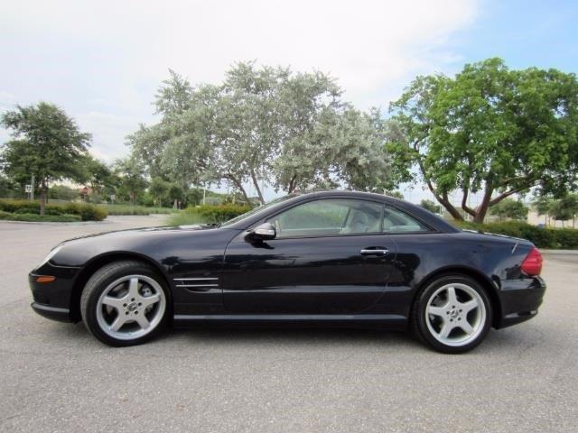 2003 mercedes benz sl class sl500 sl500 2dr convertible for Mercedes benz delray beach